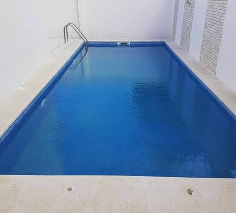 What about a salt water system in swimming pool?